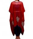 Indian Fashion Designers - Prisha by Shivesh - Contemporary Indian Designer - Stylish Berry Red Suit - PRSH-AW16-Swasti-09