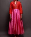Indian Fashion Designers - Prisha by Shivesh - Contemporary Indian Designer - Lovely Toned Anarkali - PRSH-AW16-Swasti-11