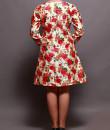 Indian Fashion Designers - Prisha by Shivesh - Contemporary Indian Designer - Charming Floral Printed Dress - PRSH-AW16-Verv-26