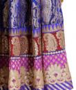 Indian Fashion Designers - Rang - Contemporary Indian Designer - Stunning Blue Lehenga - RNG-AW16-2-044