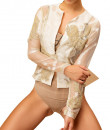 Indian Fashion Designers - Siddartha Tytler - Contemporary Indian Designer - Organza Embroidered Jacket - ST-AW16-MS16-JCKT-002