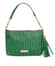 Indian Fashion Designers - Syuuta - Contemporary Indian Designer - Green Elegante De Ostrich - SYK-AW16-SY028