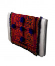 Indian Fashion Designers - The Purple Sack - Contemporary Indian Designer - Pom Pom Flat Clutch - TPS-AW16-TPSS14