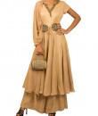 Indian Fashion Designers - Kakandora - Contemporary Indian Designer - Three piece Anarkali - KAK-AW16-KAKPF010