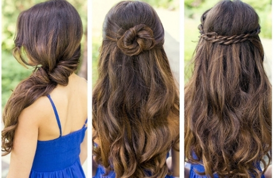 different kinds of hair style tress talk different types of indian wedding hairstyles 8776 | three different types of hairstyle